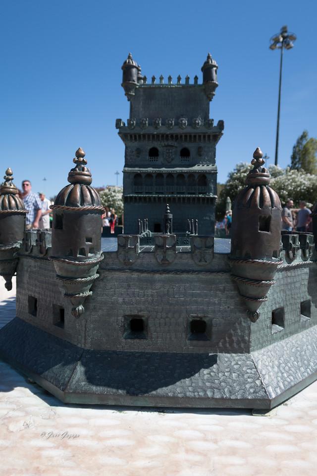 Maqueta de la Torre de Belém