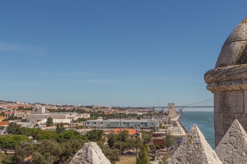 Vistas desde la Torre de Belém.