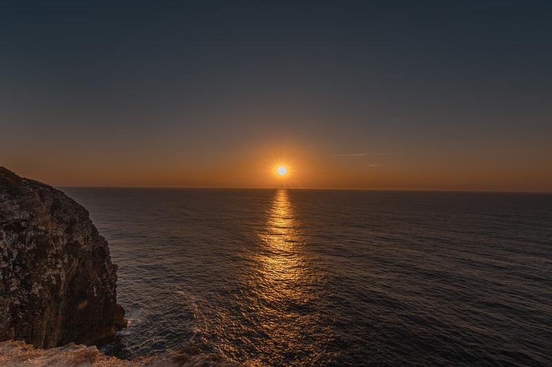 Cabo y faro de San Vicente