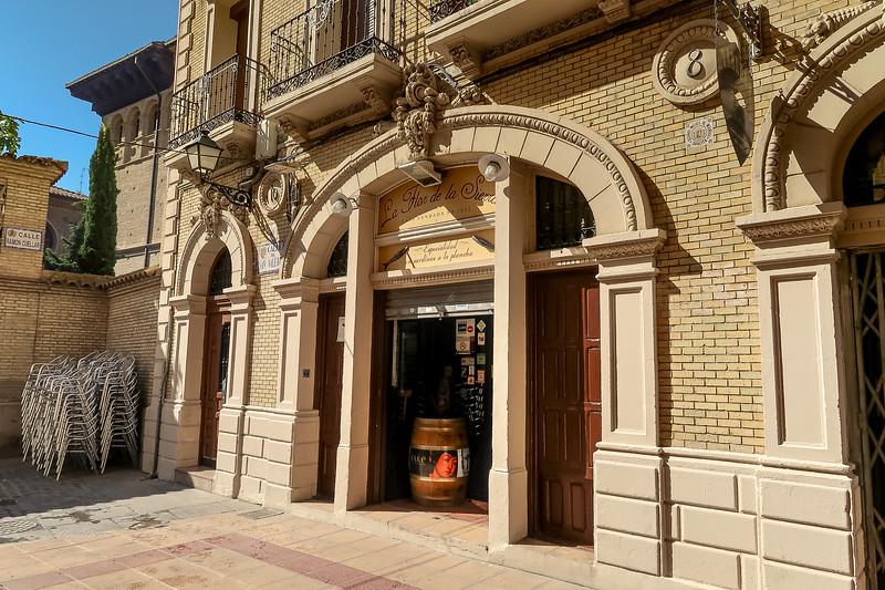Por el centro de Zaragoza