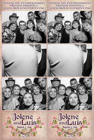 Luis & Jolene's Wedding -Photo Booth Pictures