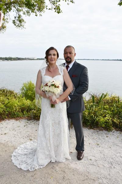 Beautiful wedding at Spanish Point, Osprey, FL