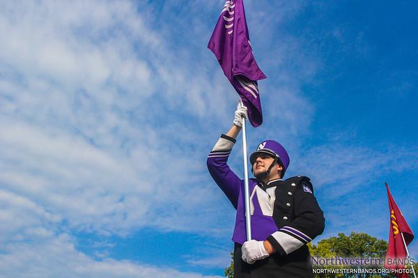 """Purple Banner Waving High"""