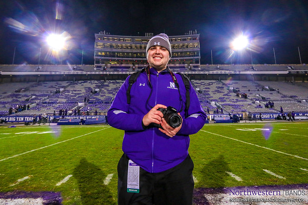 Northwestern Bands Photographer Lukas Gladic '19