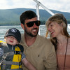 Luke & Adrienne with their son