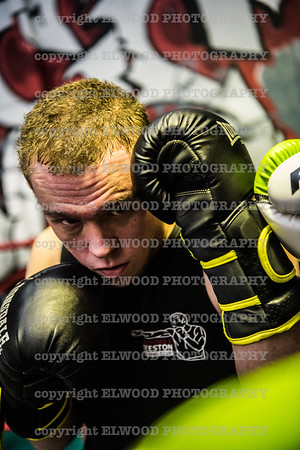 Luke Boxing Portrait