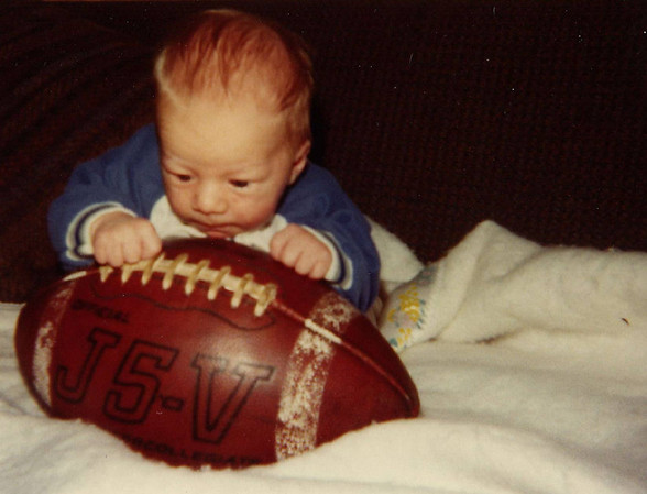 02 - Baby Luke and Football