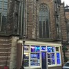 The New Church, now an arts center, with a headshop built into the side.  Only in Amsterdam.....