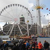The main square, Dam Square, was festive.