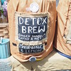 "At a street market, also right in the  neighborhood - we had no need for ""detox,"" but it was delicious!"