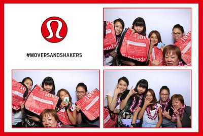 Lululemon Ala Moana Grand Opening 2015 (Fusion Photo Booth)
