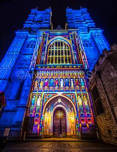 Wesminter Abbey, Lumiere London