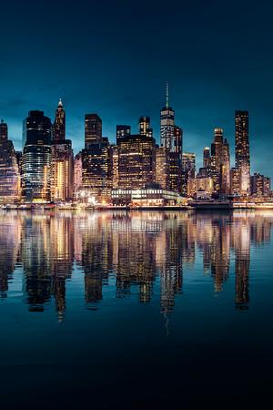 REF015 - Lumieres de New York City par Antonio GAUDENCIO Auteur Photographe