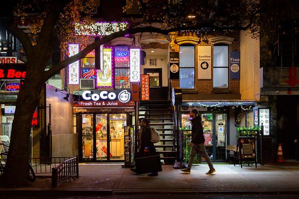 REF024 - Lumieres de New York City par Antonio GAUDENCIO Auteur Photographe