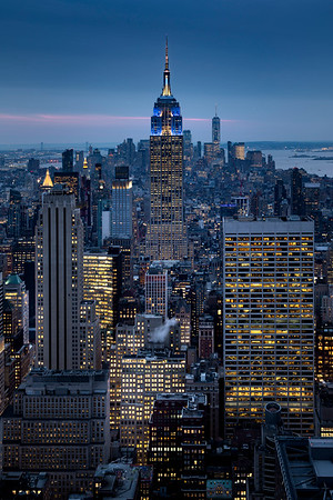 REF012 - Lumieres de New York City par Antonio GAUDENCIO Auteur Photographe