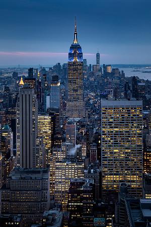 REF012 - Lumieres de New York City par Antonio GAUDENCIO Auteur Photographe