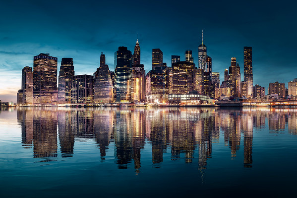 REF017 - Lumieres de New York City par Antonio GAUDENCIO Auteur Photographe