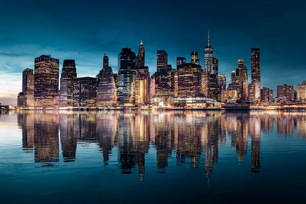 REF017 - Lumieres de New York City par Antonio GAUDENCIO Auteur Photographe