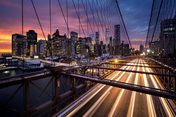 REF006 - Lumieres de New York City par Antonio GAUDENCIO Auteur Photographe