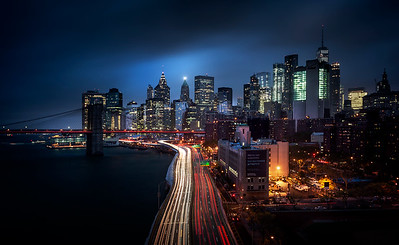 REF019 - Lumieres de New York City par Antonio GAUDENCIO Auteur Photographe