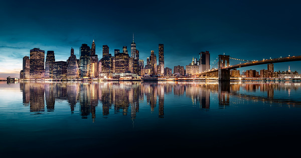 REF016 - Lumieres de New York City par Antonio GAUDENCIO Auteur Photographe