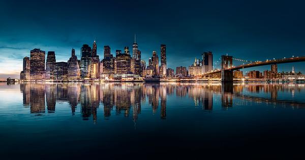 REF016 - Lumieres de New York City par Antonio GAUDENCIO Auteur Photographe