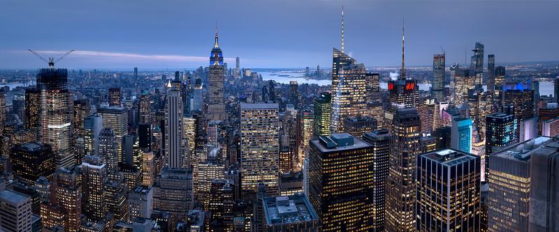 REF011 - Lumieres de New York City par Antonio GAUDENCIO Auteur Photographe