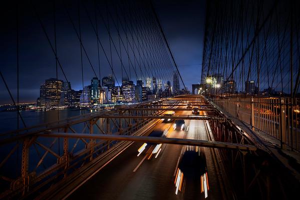 REF004 - Lumieres de New York City par Antonio GAUDENCIO Auteur Photographe