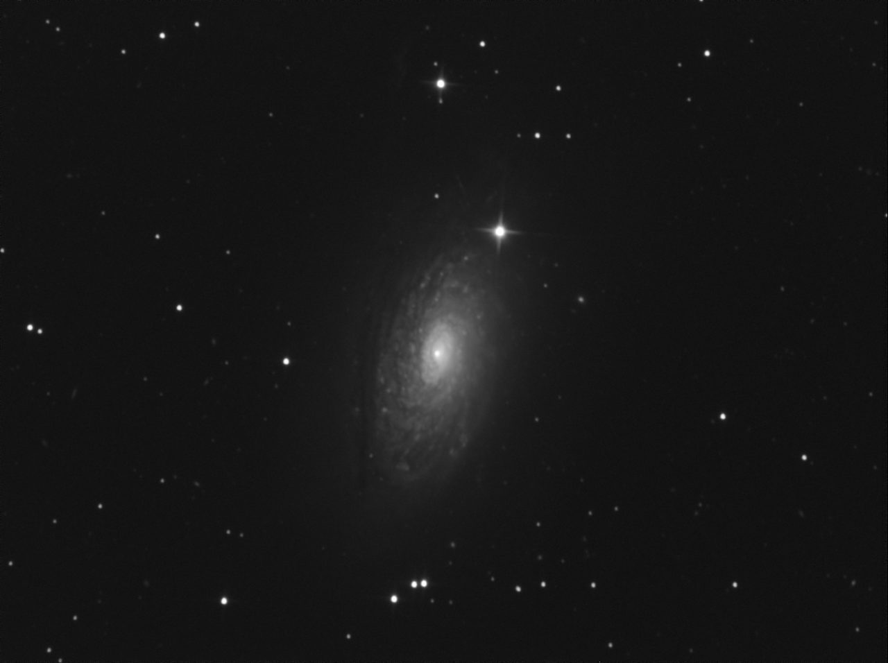 Sunflower Galaxy - M63
