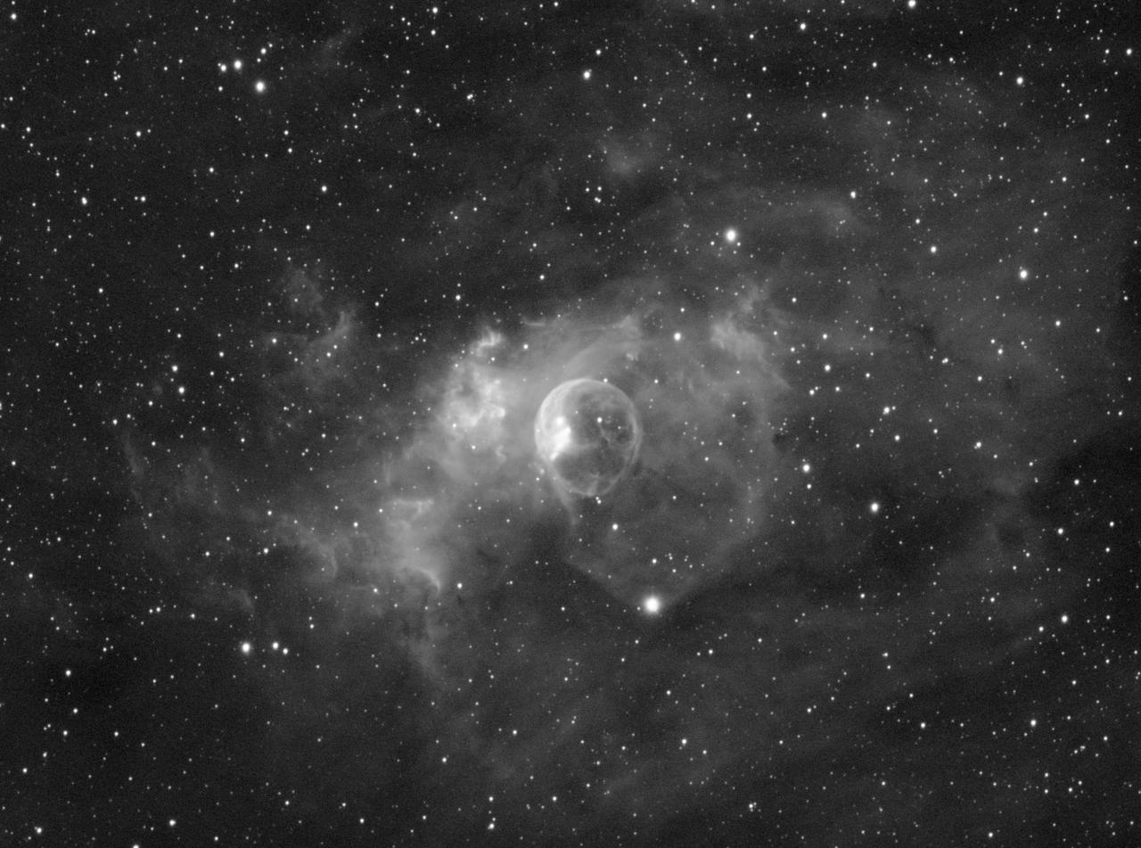 Bubble Nebula - NGC 7635