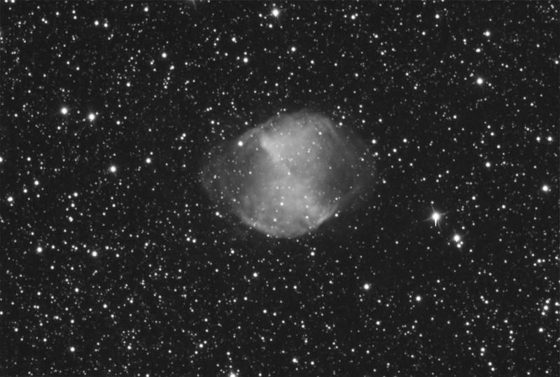 The Dumbbell Nebula - M27