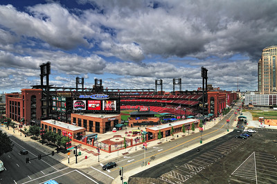 Good Morning, Busch Stadium! July 18, 2009