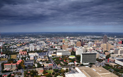 San Antonio from the Tower of the Americas