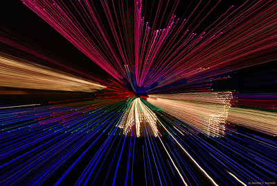 Deer at Warp Speed 5 Nikon D80 w/18-200mm (f13, 3 sec, ISO 200) December 13, 2006