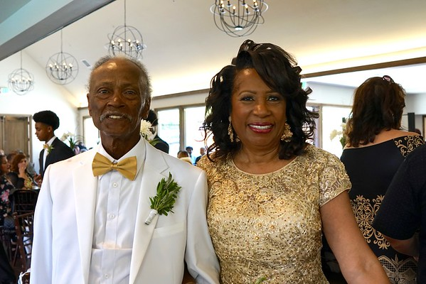 Lumus & Joyce Russell 50th anniversary