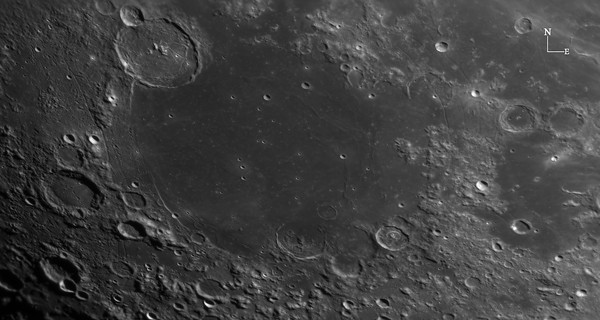 Gassendi and Mare Humorum (Jan 7, 2020)