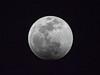 Lunar eclipse beginning