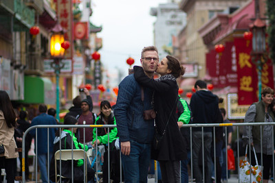 Lunar New Year Parade 2014 in Chinatown San Francisco