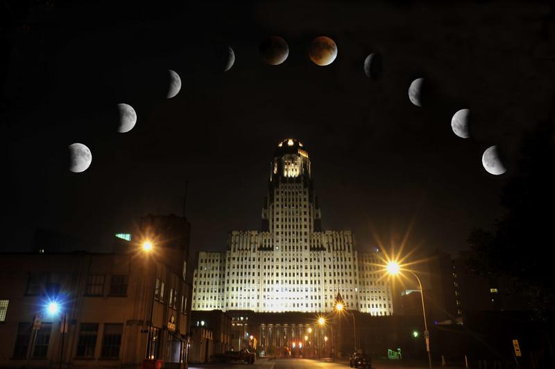 Solar Eclipse Montage 2015
