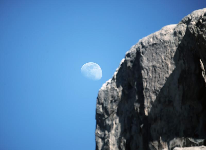 Day Moon- Joshua Tree National Park