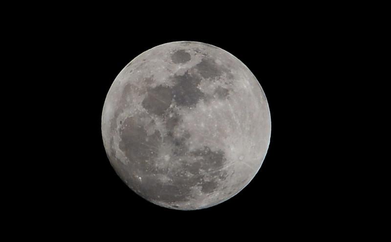 Moon Over Oceanside Nikon D3