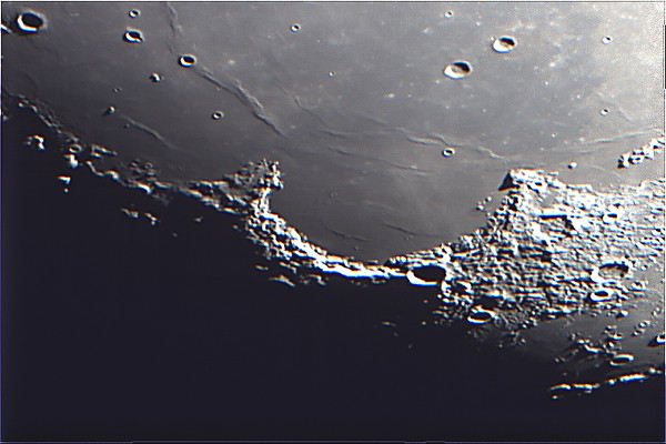 Sinus Iridum or the Bay of Rainbows