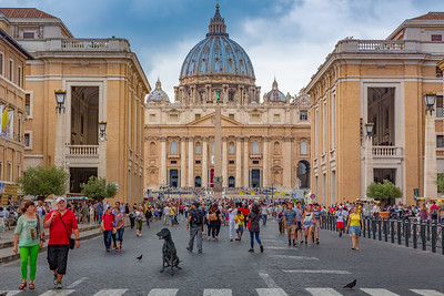 St. Peters Cathedral, Vatican City,  Italy