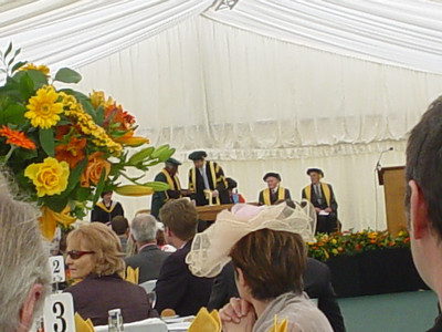 Conferment of Honorary Fellowship (3)