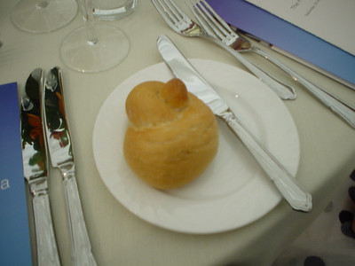 My Breadroll  I couldn't resist... this is the breadroll I had.  Remind you of something?