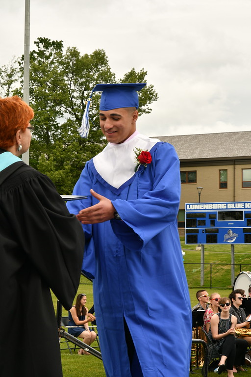 . Photos from the LHS Class of 2017 Graduation Sentinel & Enterprise/ Jim Fay