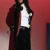 Lunenburg Middle High School had a dress rehearsal for their upcoming Peter Pan on Thursday afternoon at the school. Senior Maxwell Bollous, playing Captain Hook, performs a scene during the dress rehearsal. SENTINEL & ENTERPRISE/JOHN LOVE