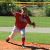 Pitcher Jeff Swedberg throws<br /> SENTINEL&ENTERPRISE/Scott LaPrade