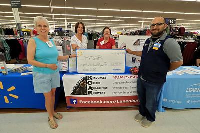 Lunenburg ROAR/Walmart check, July 21, 2018