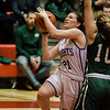Lunenburg's Johanna Hudson in action during the Division 3 Central Mass. final against Grafton at Worcester Polytechnic Institute on Saturday, March 11, 2017. Lunenburg would defeat Grafton 55-54 in overtime. SENTINEL & ENTERPRISE / Ashley Green